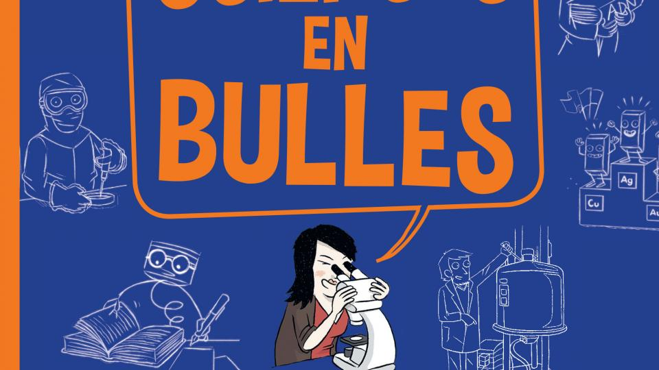 La couverture de la BD Sciences en Bulles