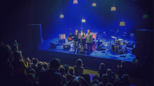 Une photo de concert au Diapason